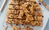 Cookies sticks noix de pécan et cranberries