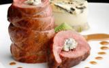 Magret de canard rôti, Mille-Feuille de Chou vert et sa douceur exotique