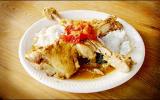 Cuisses de poulet au lait de coco