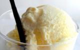 Glace à la vanille maison traditionnelle