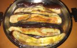 Tranches d'aubergines grillés