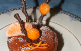 Tarte choco/orange