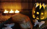 Cake fondant à la courgette et au saumon