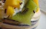 Pavlovas aux fruits éxotiques