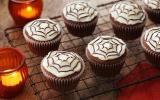 Cupcakes spider d'Halloween