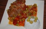 Jarret de veau aux olives
