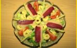 Salade de tortellinis et magret de canard