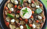 Pizza aux courgettes et Saint Marcelin