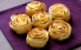 Mini-tartelettes fleurs de pommes