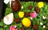 Chocolats noirs fourrés à la ganache infusée verveine et zestes de citrons confits