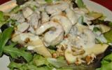 Salade de dinde et roquefort