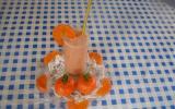 Smoothie mandarine-fraise