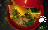 Curry d'agneau éxotique