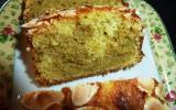 Cake au citron et à la pistache