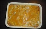 Gratin de poires et caramel au beurre salé