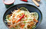 Salade de papaye verte façon thai