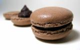 Macarons chocolat - noisettes