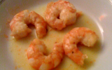 Gambas au beurre d'agrumes