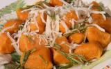 Gnocchi de butternut au beurre de romarin