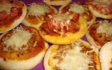 Mini pizzas maison