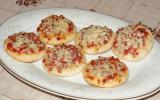 Mini pizzas végétariennes