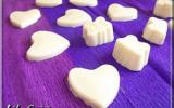 Chocolat blanc à la noix de coco
