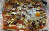 Pizza crémeuse à la ricotta
