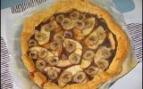 Tarte chocolat pomme banane