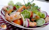 Salade originale terre et mer