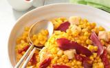 Salade de maïs au magret fumé
