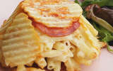 Faux bowl cake façon Mac and Cheese