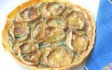 Tarte aux thon et courgettes