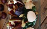 Salade d'automne au St Marcellin