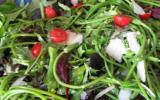 Salade d'asperges des bois ou pas d'ailleurs !
