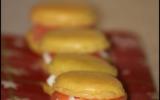 Macarons au saumon fumé