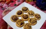Biscuits chocolat et noix