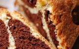 Marbré choco-vanille qui deviendra...