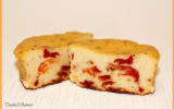 Cake tomates séchées, ricotta et basilic