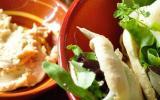 Pitas fraîcheur poulet, houmous et jeunes pousses