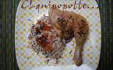 Papillotte de cuisse de poulet