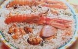 Risotto aux fruits de mer économique