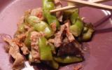 Emincés de porc et cocos plats aux saveurs d'Asie
