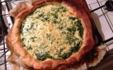 Tarte aux Epinards et Parmesan