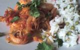 Crevettes à l'orange et à la coriandre