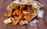 Chips aux deux patates douces