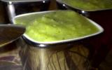 Soupe fraicheur aux légumes verts