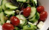 Salade grecque gourmande