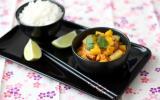Curry de canard à la mangue et à l'ananas