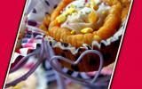Cupcake au Kaki et crème de marrons
