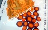 Pâtes et sa carotte violette